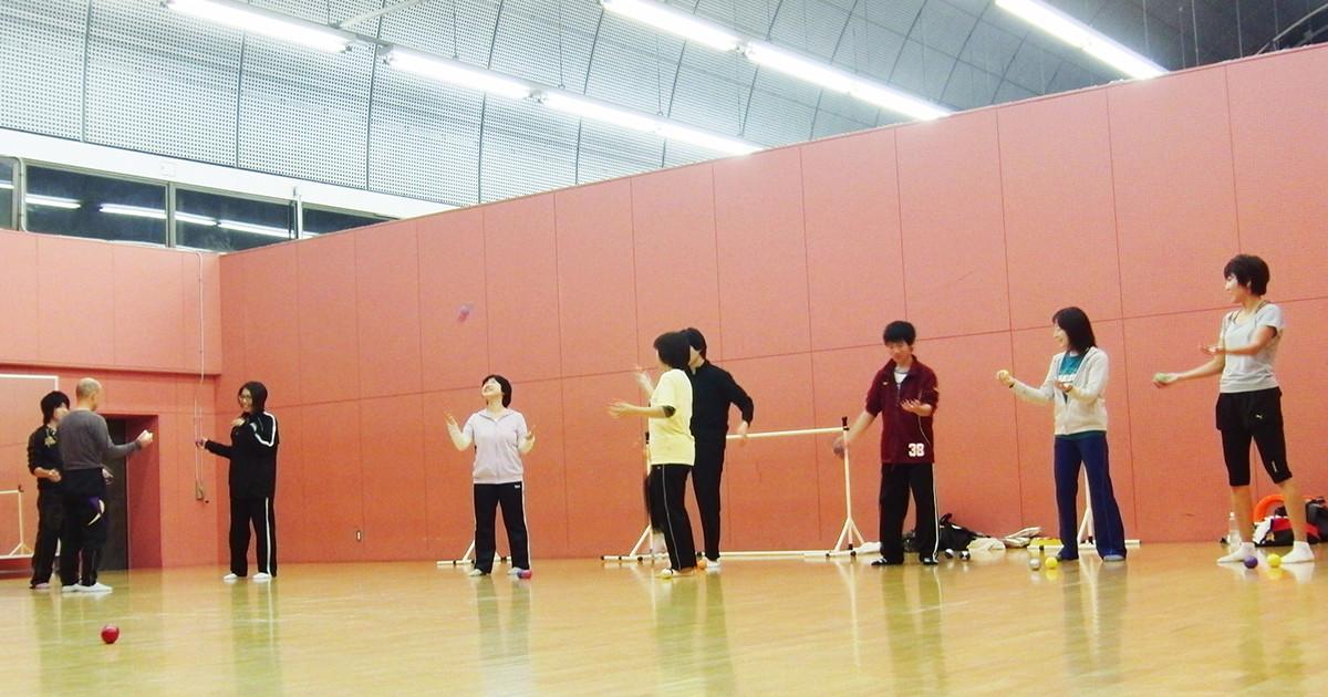 横浜新ジャグリングクラブ練習会